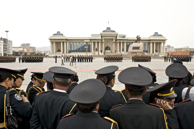 Military parade, Sukhbaatar Square