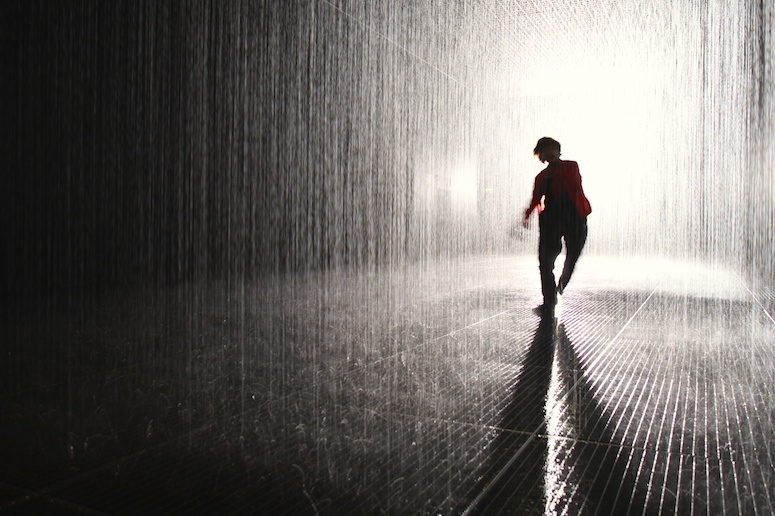 Barbican Rain Room Tom Gildon 0310123